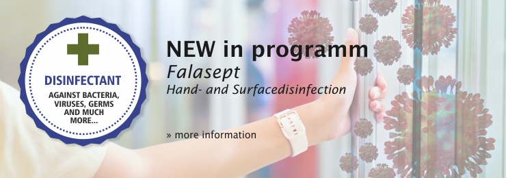 New in programm - Falasept hand- and surfacedisinfection